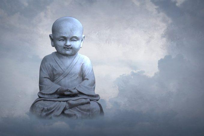 マインドフルネス瞑想をする画像